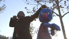 Need encouragement? Listen to Kid President and Grover's pep talk on how you can make a difference in the world!
