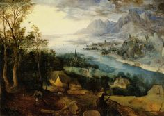 Pieter Brueghel der Ältere - Landschaft mit dem Gleichnis vom Sämann