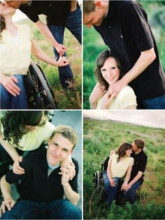 Engagement session with woman in wheelchair - Jonathan Canlas Photography