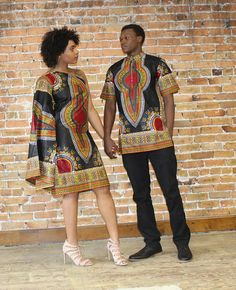 afrikanische kleider This Dashiki couple set is great for prom or any dress has a zipper on the side Made with Cotton African Maxi Dresses, Latest African Fashion Dresses, African Dresses For Women, African Print Fashion, Africa Fashion, Ghana Fashion, Ankara Dress, African Wedding Attire, African Attire