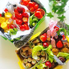 usako's dish photo 運動会のお弁当    お惣菜色 http://snapdish.co #SnapDish #お弁当 #お昼ご飯 #運動会