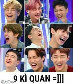 Ways to laugh ft. Exo