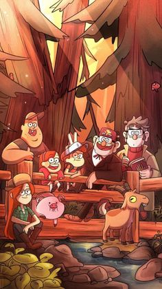 Lockscreens | Gravity Falls requested lockscreens Like or...