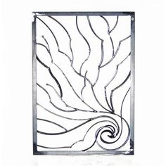Branch Security Window Grill by Mine Metal Art on HomePortfolio