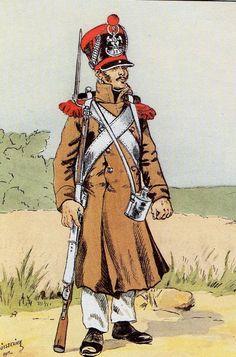 Carabinier, 31e Léger, 1813-1814
