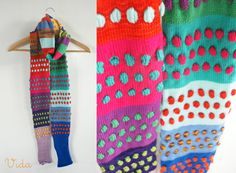 Great Idea - a great way of swatching for colour placement but also a great way to use up odd yarn bits