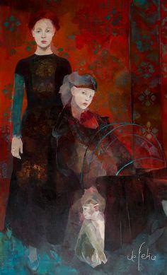 'Les Rêveuses' Françoise de Felice, 2016