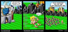 Clash Of Clan Funny Comic, Video & Picture