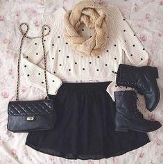 Teenage Fashion Blog: Warm For Fall