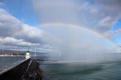 Jet d'eau et arc en ciel! : PLANETE PHOTOS (LE BLOG DE GENEVE)