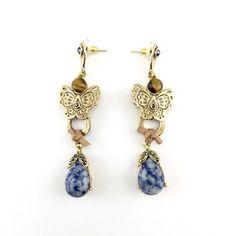 Gold Tone Earrings (5198)