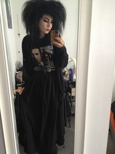 """80s goth love it! It's just like """"the cure"""" he always had great hair! :D"""