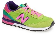 Only $55.83!! New Balance '515 Classic' Sneaker (Women) #new #balance #sneakers #fashion #green #neon #pink #sale #shoes #bright