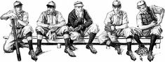 "Collier's, ""The Miracle Club"" (1914) FX Leyendecker http://www.americanartarchives.com/leyendeceker,fx.htm"