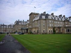 "Where hubby was inducted to the ""Keepers of the Quaich"" - Gleneagles, Scotland"