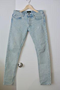 A.P.C. Blue Petit New Standard Jeans Size 28 - Denim for Sale - Grailed