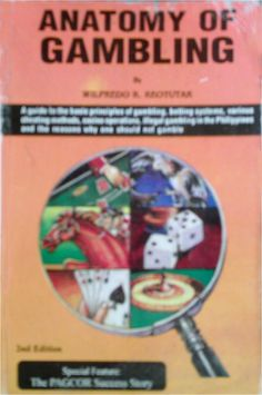 Anatomy of Gambling book $8.75