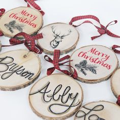🎄🎅🏼Rustic Christmas is becoming our new favorite. Check out @craftingchicks Wood Stocking Tags DIY up on our site. So cute, so easy. Click link in profile. #rusticchristmas #rusticchristmasideas #rusticchristmasdiy #christmasdiy #woodcrafting #orientaltrading #fun365