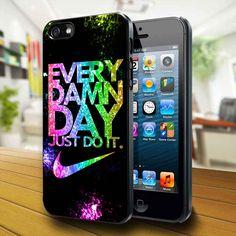 Nike Every Damn Day Sparkle iPhone 5 Case