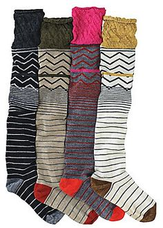 SmartWool Frilly Knee Highs & ALL SmartWool. Will it ever get cold enough to wear boots and wool socks in Houston? Vetements Clothing, Over Boots, Wool Socks, Fun Socks, Crazy Socks, Wacky Socks, Awesome Socks, High Knees, Look Chic