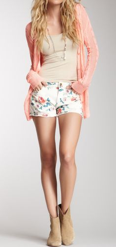 Shorts + booties