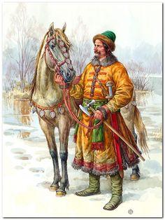 Guerrero ruso, siglo X. Más en www.elgrancapitan.org/foro