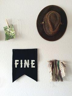 - diy // woven wall art -