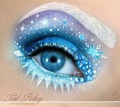 Frosty Princess-Inspired Makeovers - This Disney-Inspired Makeup Goes Ice Queen Style (GALLERY)