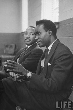Kenneth Kaunda and Martin Luther King