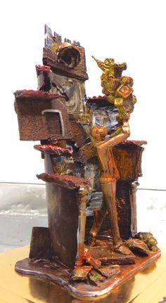 WEBNODE :: MARRONE CIOCCOLATO D'AUTORE scultura in cioccolato