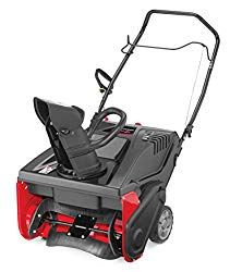 Craftsman 179cc Electric Start Single Stage Gas Powered Snow Blower With 21 Inch Clearing Width Electric Snow Blower Gas Snow Blower Snow Blower