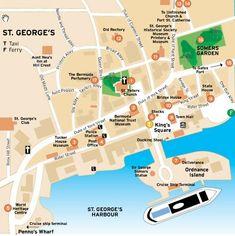 Printable Map of Bermuda | map of Bermuda. Free download large ...