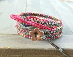 Faux Leather Cord Fish Charm Spiral Double Helix Unisex Adjustable Bracelet Color Choice Beach Bracelet Friendship Bracelet Macrame