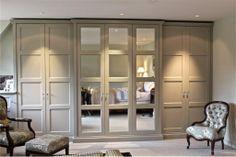 Wardrobe fronts Tender doc will be clear on mirrors The English Wardrobe Company stockist Vanilla Interiors