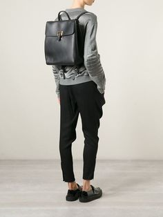 Eastpak Classic Leather Backpack - Farfetch | BACKPACKS ...