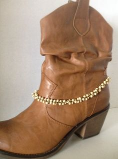 A personal favorite from my Etsy shop https://www.etsy.com/listing/201082827/boot-chain-made-of-bronze-tone-chain