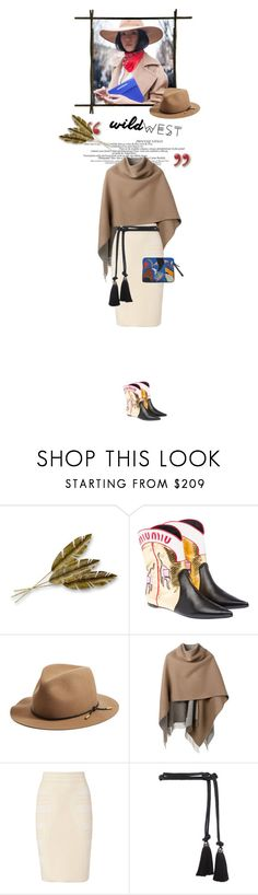 """""""Wild West Style"""" by cultofsharon ❤ liked on Polyvore featuring Artisan House, Miu Miu, rag & bone, Alexander McQueen, Lanvin and Lizzie Fortunato"""