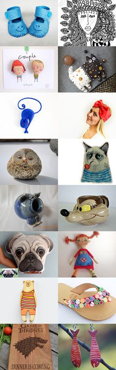 FUN SHOPPING THIS WEEK-END by JENNIFER PUGH on Etsy--Pinned with TreasuryPin.com