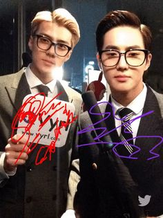 SM Halloween Party 151029 : SMTOWN WONDERLAND - Sehun and Suho