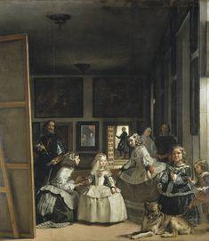 """Velázquez. """"Las meninas, o La familia de Felipe IV"""" (1656)"""