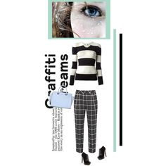 A fashion look from December 2014 featuring Burberry sweaters, French Connection pants and Sergio Rossi ankle booties. Browse and shop related looks.