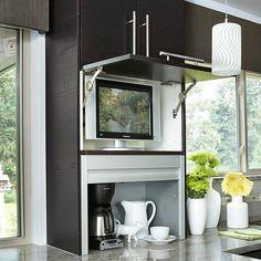 appliance garage cabinet | Kitchen | Pinterest | Appliance garage ...