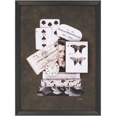 Butterfly Framed Painting Print