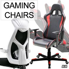 [S$99.90](▼76%)★GAMING CHAIRS ★PERFORMANCE CHAIRS ★FULL ALUMINIUM LEG ★LEATHER/MESH ★Extra Padding * Cold Cure Foam
