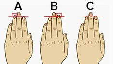 It is unbelievable how much you can discover about your personality by just comparing your ring finger to your index finger. Here are 3 ring and index finger combinations. You can find out which co… Finger Length Meaning, Finger Meaning, Index Finger, Handwriting Analysis, Palmistry, Personality Types, Numerology, Did You Know, Decir No