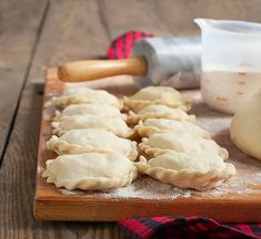 Homemade Polish Pierogi-- My college roommate turned me on to these. I love them and always wanted to make some homemade. Cant wait to try!