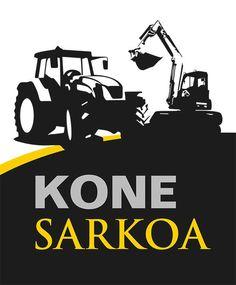 www.ninavirtanen.fi Logon suunnittelu. Kone Sarkoa Oy on Seinäjoella sijaitseva koneurakointiyritys ja osa Sarkoa-yritystä. www.sarkoa.fi #graafinensuunnittelu #graphicdesign #logosuunnittelu #logodesign