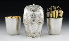 Bonnie Prince Charlie's silver travelling canteen