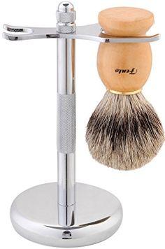 Fento Badger Hair Shaving Brush and Chrome Razor Stand Sh... https://www.amazon.com/dp/B01HMGPOE6/ref=cm_sw_r_pi_dp_x_vj2VxbFFHBYJ7