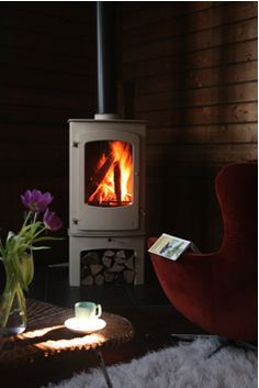 a charnwod stove before winter approaches